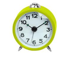 Ceas cu alarma verde