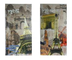 Set 2 tablouri PARIS