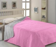 Cuvertura dubla Grey-Pink