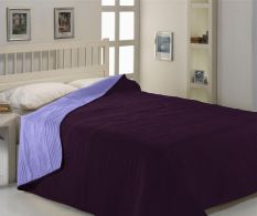 Cuvertura dubla Lila-Purple