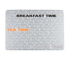 Set 2 individualuri Breakfast, Tea and Dinner Time