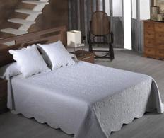Set de pat Emma Blanco 230x270cm