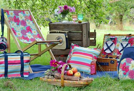 Szórakoztató  piknikezés