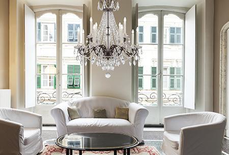 Elegancia a nappaliban