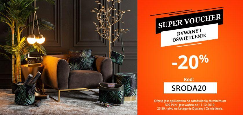 Super voucher - rugs&lighting