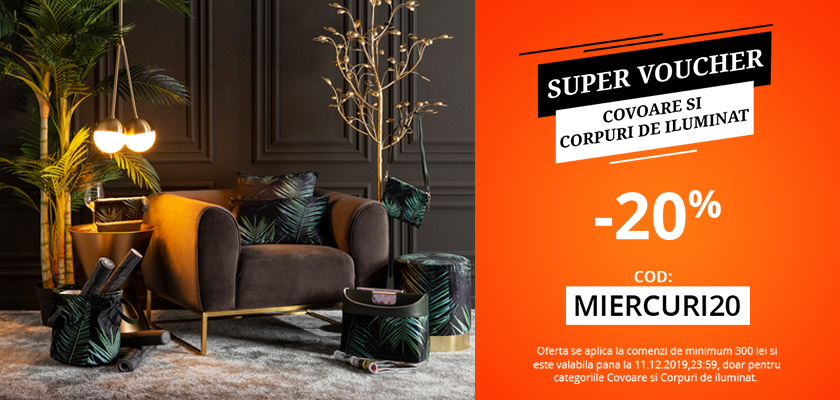 Super voucher - rugs&lighting