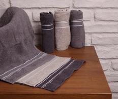 Set 6 prosoape 30x50 cm Grey