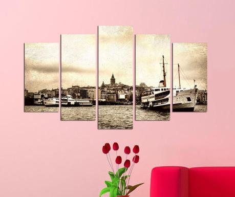 Set 5 tablouri Harbor