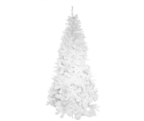 Umetna božična jelka White Deluxe 180 cm