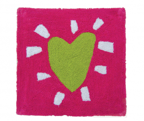 Kupaonski tepih Heart on Pink 55x55 cm