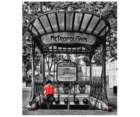 Obraz Paris Metro 100x120 cm