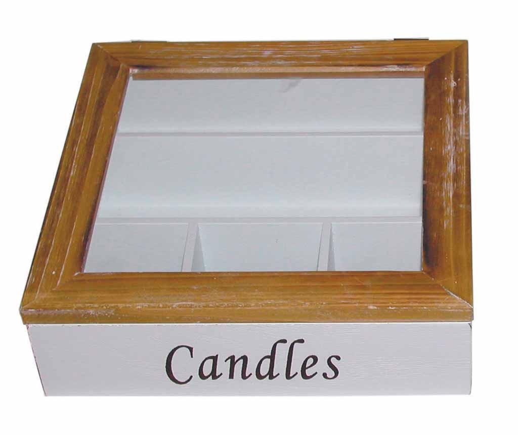 Candles Doboz fedővel