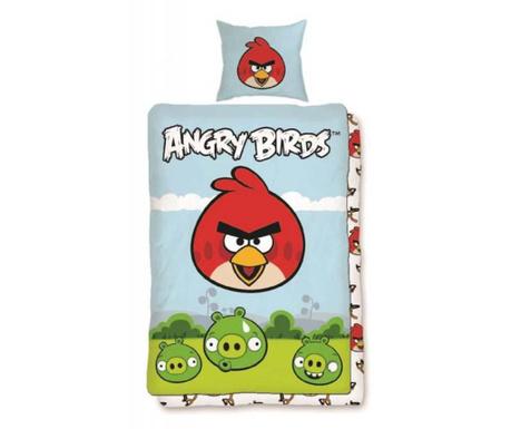 Lezárult akció Ranforce Angry Birds Brave Ágynemű Gyerekeknek 140x200 cm 025a5ac123