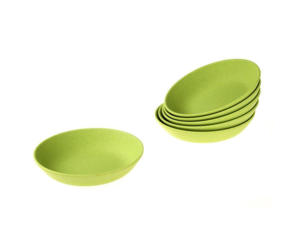 Set 6 farfurii pentru sos Eco Green