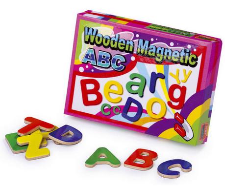 Zestaw magnetycznych liter 52 elementy Clever