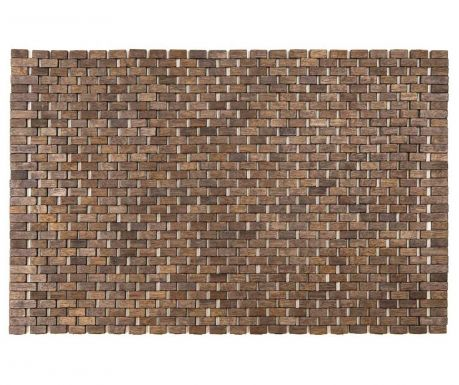 Covoras de baie din lemn Sonia Grey 45x70 cm