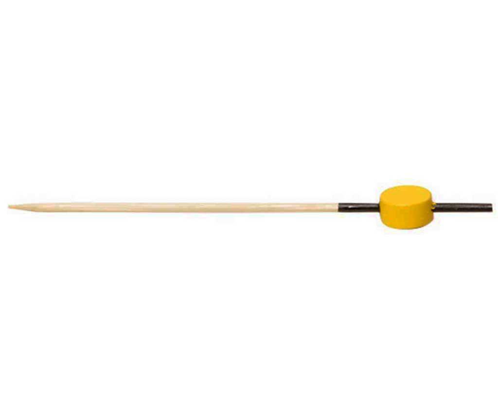 Set 100 štapića za predjela Bamboo Yellow Pick