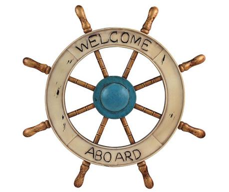 Decoratiune de perete Welcome Aboard