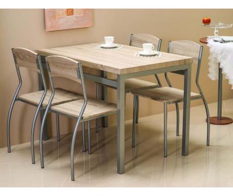 Set masa si 4 scaune Giselda