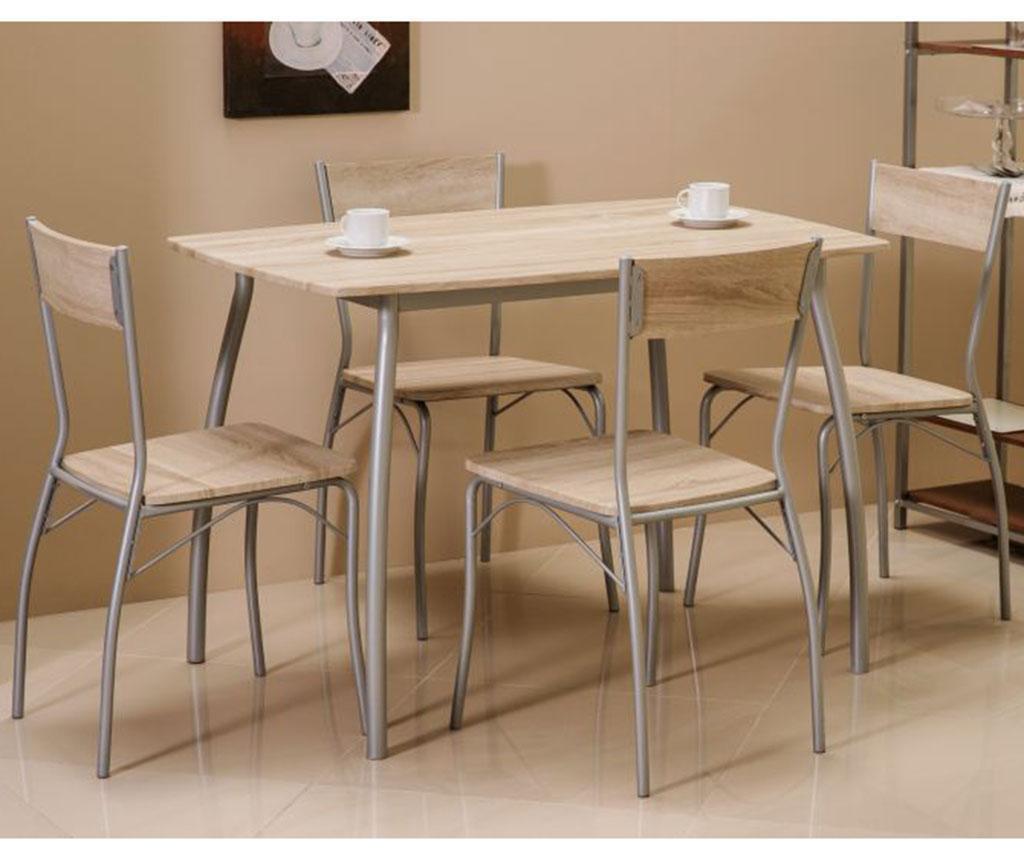 Set masa si 4 scaune Trevor