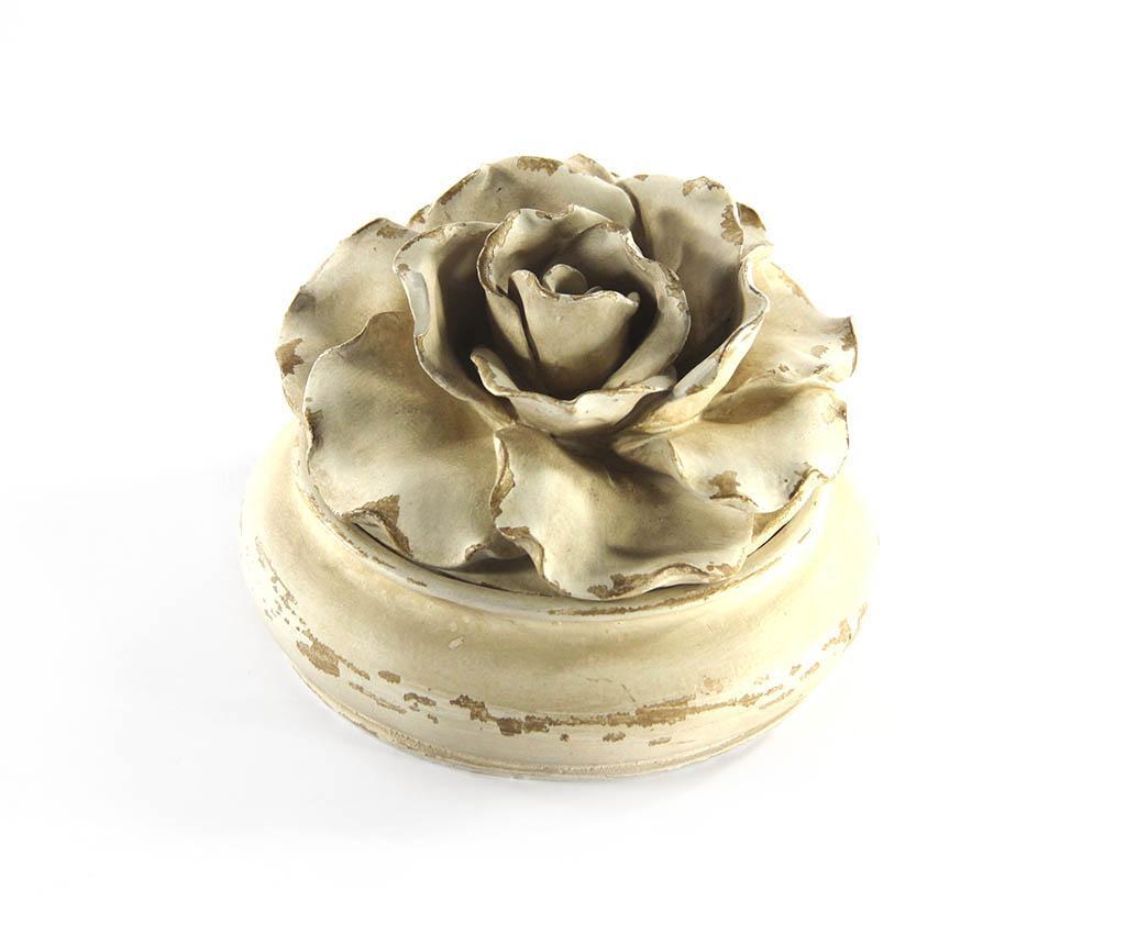 Škatla za nakit Round Rose