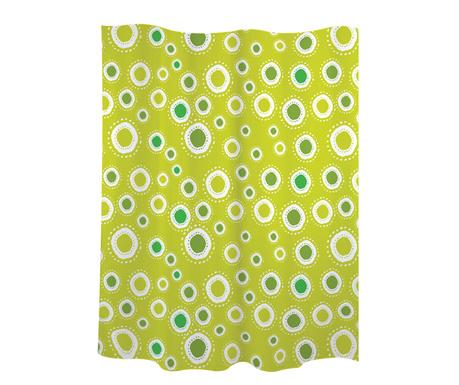 Perdea de dus Little Spots Green 180x200 cm
