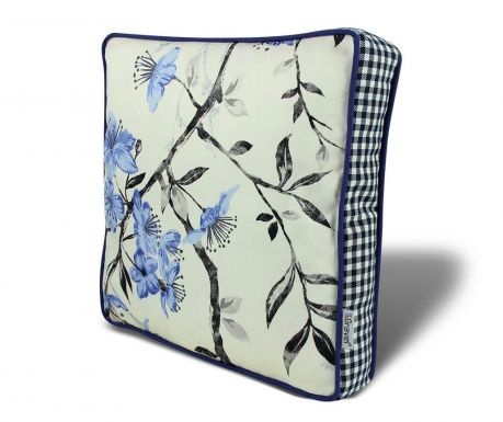 Seat cushion Cold Flowers 42x42 cm