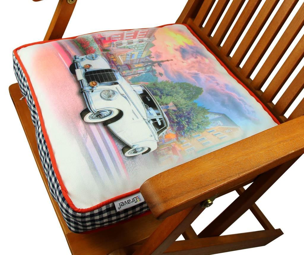 Jastuk za sjedalo Luxury Car 42x42 cm