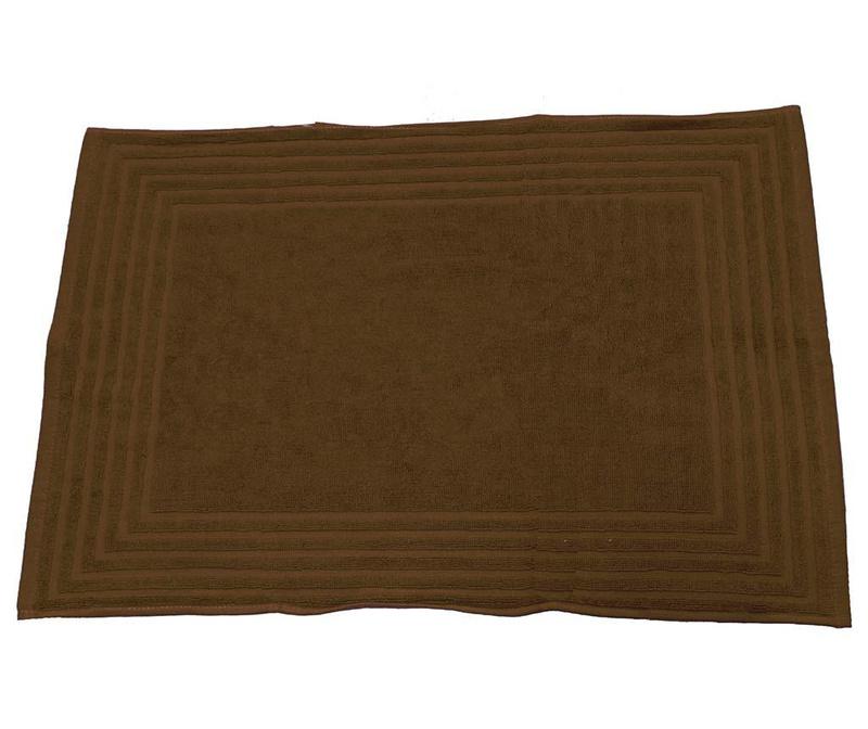Covoras de baie Alfa Chocolate 50x70 cm