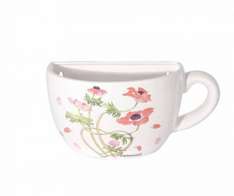 Стенна саксия Anemone Teacup