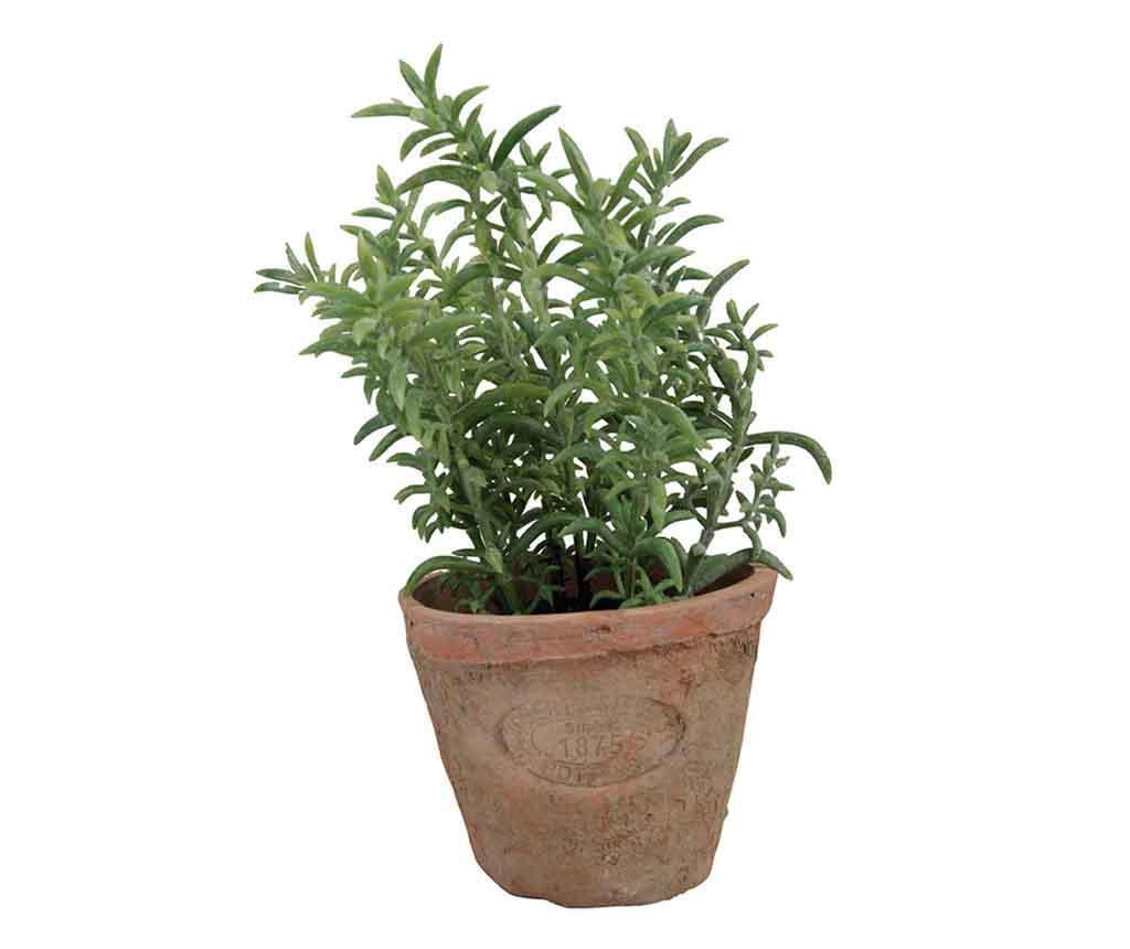 Planta artificiala in ghiveci Thyme