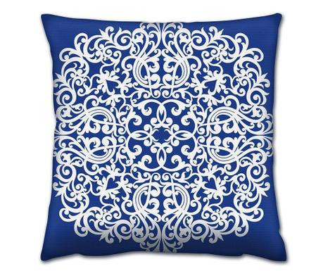 Διακοσμητικό μαξιλάρι Zen Blue 43x43 cm
