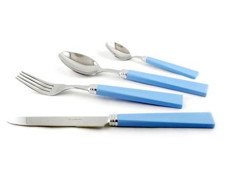 Комплект прибори за хранене 24 части Patio Sky Blue