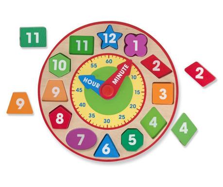 Edukativna igračka Chunky Clock
