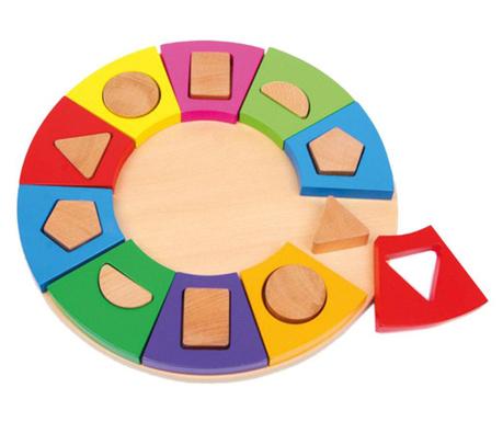 Jucarie de potrivire a formelor Circle