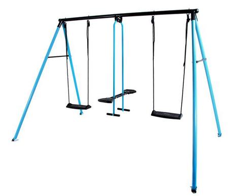 Leagan 3 locuri copii Can-Can Classic Blue