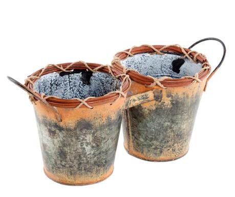 Holder for 2 flower pots Josiah