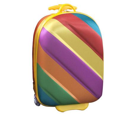 Detský kolieskový kufor Bouncie Candy 20 L