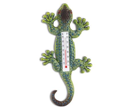 Pokojový teploměr Lizard Green