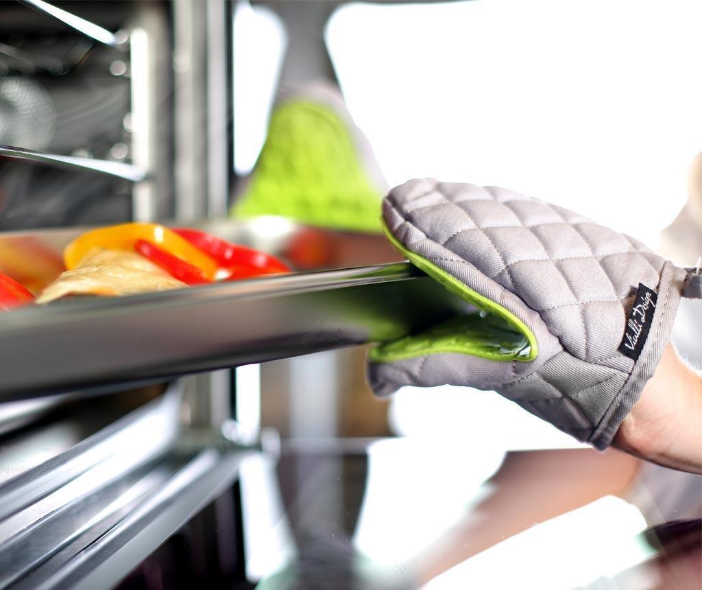 Kuhinjska rukavica Livio Grey Green