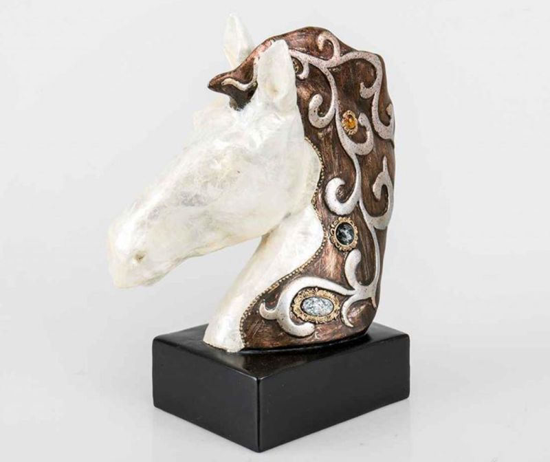 Zidni ukras Left Horse Head
