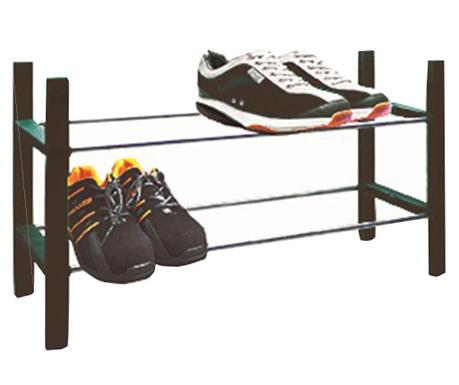 Етажерка за обувки Rook Black