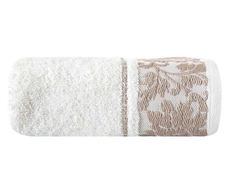 Agnes Cream Fürdőszobai törölköző 50x90 cm