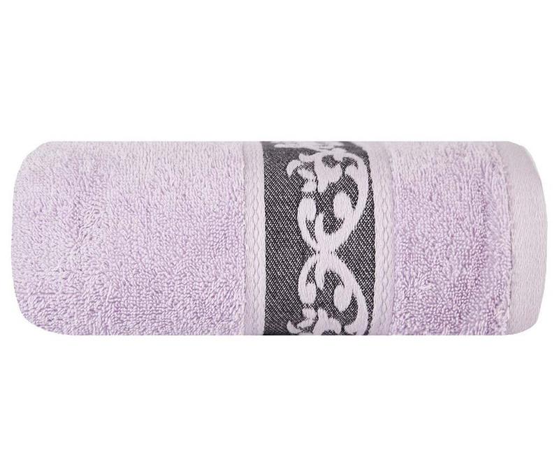 Kopalniška brisača Cezar Lilac 70x140 cm