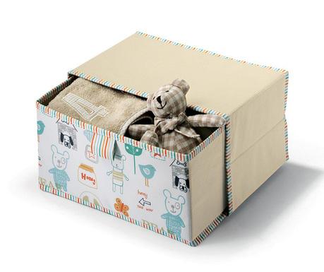 Skladovacia krabica s vekom Bear House