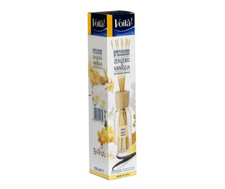 Дифузер с етерични масла и пръчици Ginger & Vanilla 150 мл
