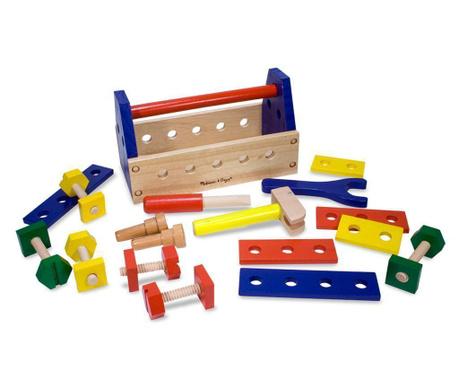 Igračka drvena kutija s alatom Rainbow