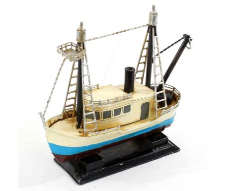 Decoratiune Boat Ivory