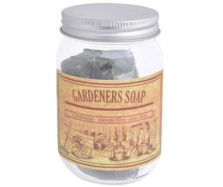 Sada sklenice s víkem a mýdlo Gardeners Soap