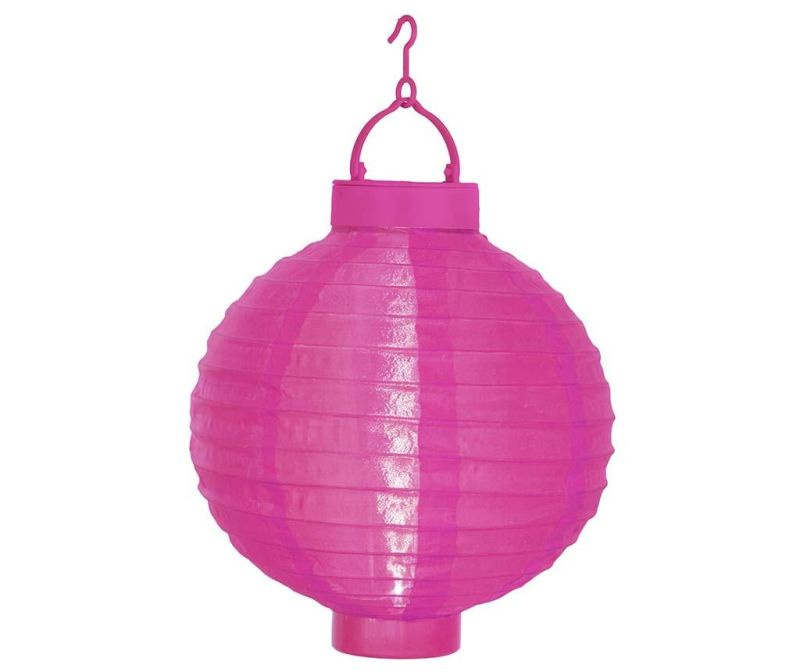 Solarna lanterna Pan Pink